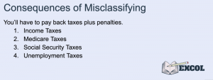 Consequences of Misclassifying Employees During Payroll Services